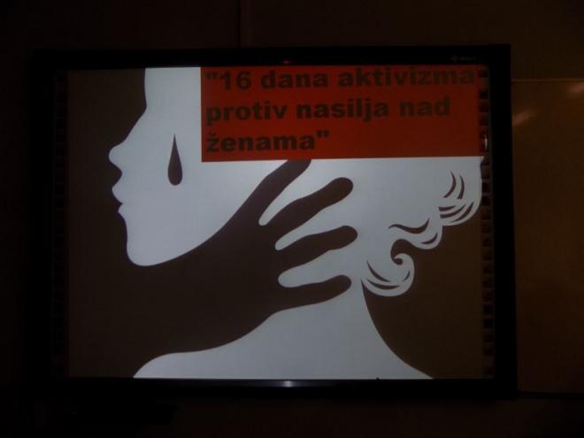 16 дана активизма против насиља над женама