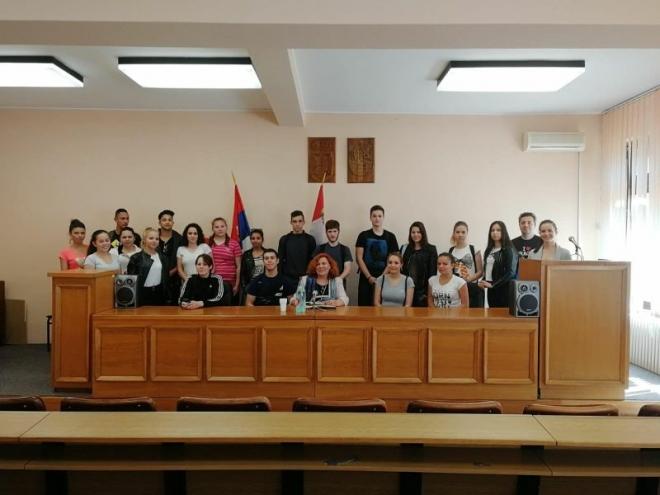 Посета Скупштини општине