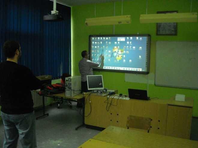 Нова интерактивна табла у школи