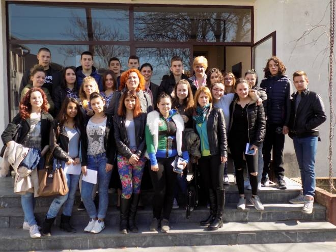 Ученички парламент у Скупштини општине Нова Црња